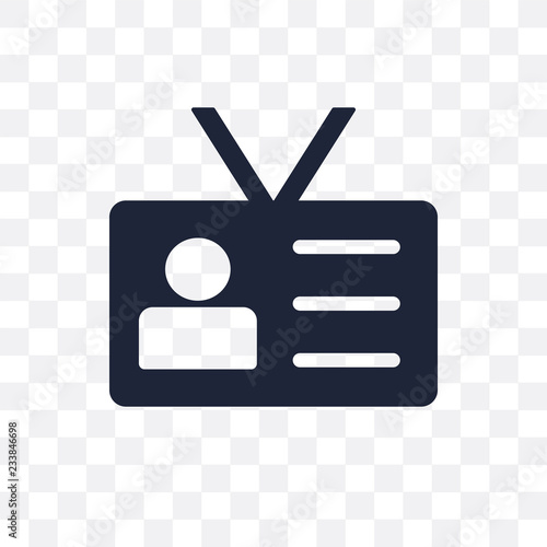 Fotografie, Obraz  Visitor transparent icon