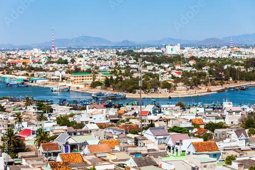 Foto op Aluminium Algerije Phan Thiet aerial panoramic view