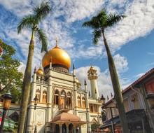 サルタンモスク シンガポール 外観