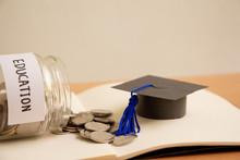 Graduation Hat With Glass Jar ...