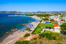 Faliraki Beach Aerial View, Rh...