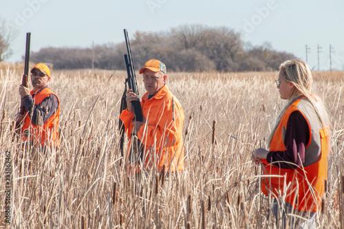 Photo  Hunting Pheasants in Eastern South Dakota during October
