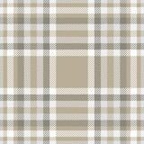 Plaid pattern in grey, white and taupe. - 233864435