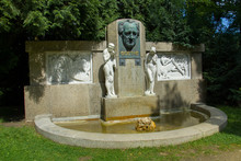 Memorial Of Famous German Poet...