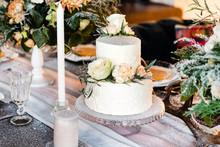 Wedding Table With Cake
