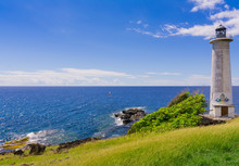 Caribbean Sea View At Vieux-Fort, Southernmost Point Of Guadeloupe