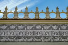Sgraffito On The Wall Of Renai...