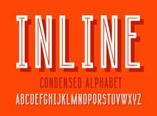 Line Alphabet Set