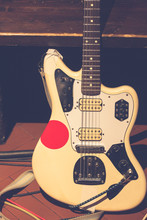 Vintage Rock Electric Guitar