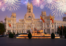 Fountain Of The Cibeles And Pa...