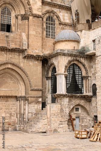 Church of the Holy Sepulchre in Jerusalem, Israel Wallpaper Mural