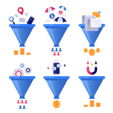 Funnel Generation Sales. Busin...