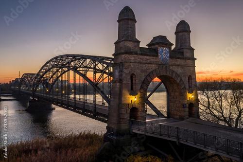 Brückenkopf Alte Elbbrücke Wilhelmsburg