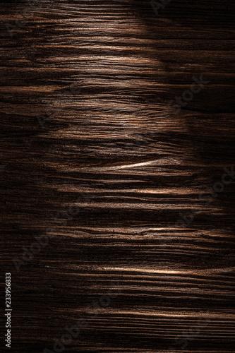 Fotografia  Obsolete wooden board texture top view