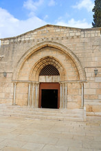 Church Of The Sepulchre Of Saint Mary, Also Tomb Of The Virgin Mary, A Christian Tomb In The Kidron Valley, At The Foot Of Mount Of Olives, In Jerusalem, Israel