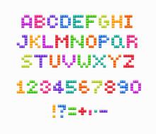 Crystal Pixel Font, Retro Vide...