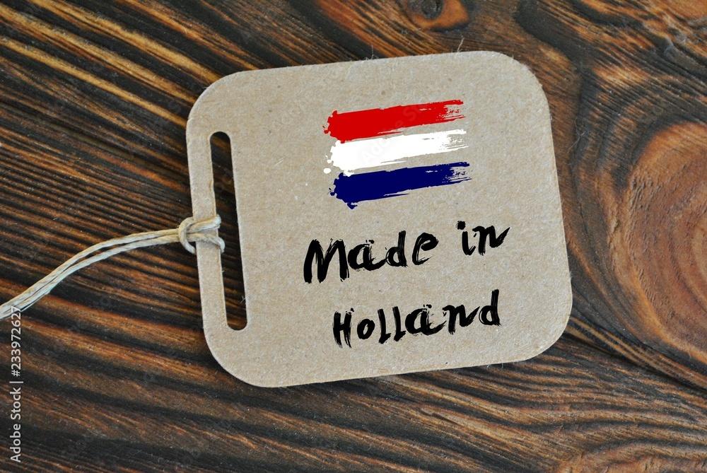 Fototapeta Made in Holland
