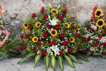 Blumen, Florist, Gebinde,