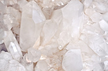 Quartz Crystals Background