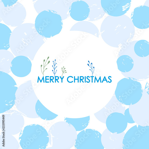 Foto op Plexiglas Hemel Christmas and New Year card. vector illustration