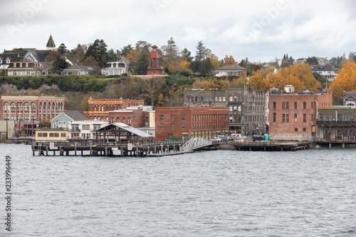 Obraz na plátne Port Townsend Washington from the Kennewick Ferry