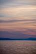A Beautiful Sunset Landscape on the Coast