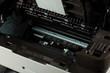 Open modern new printer