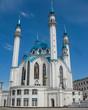 Beautiful and exquisite view of Kul Sharif mosque. Kazan city, Tatarstan, Russia.