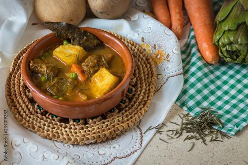 Fotografie, Obraz  Spanish typical stew dish