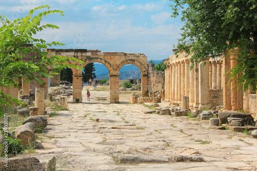 Valokuva  Hierapolis ancient city, Turkey