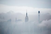 New York Grattacieli Nella Neb...