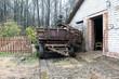 Farm wagon with manure