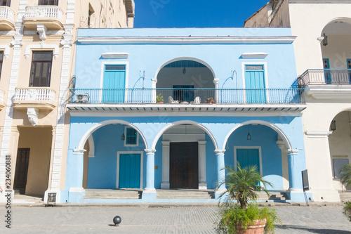 The facade of the Fototeca of Cuba Fototapet