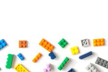 Plastic Building Blocks Isolat...