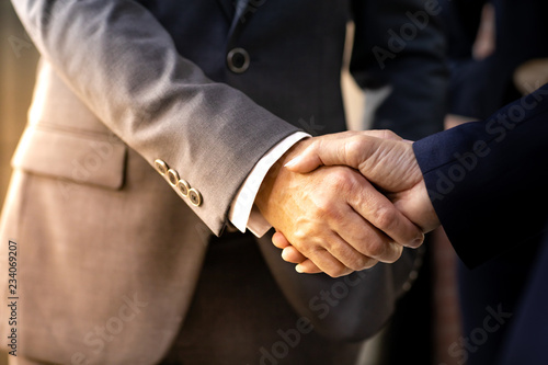 Photo Business deal mergers and acquisitions