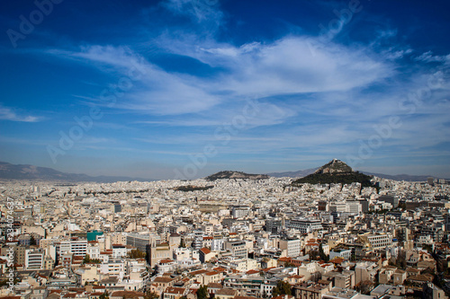 Panorama of Athens from the Acropolis