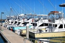 Sport Fishing Boats Moored At ...