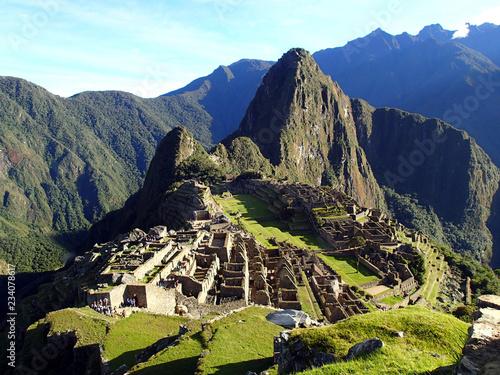 Photo Stands South America Country Machu Picchu - Peru