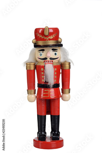 Fotomural nutcracker toy soldier isolated
