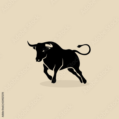Bull, cow icon