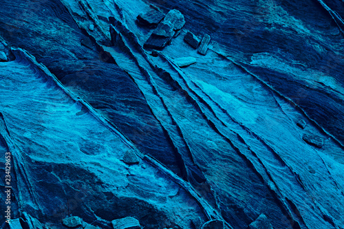 Photo sur Toile Les Textures Creative Background And Texture In Neon Blue