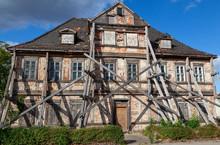 Verfallenes Haus In Coswig, Sa...