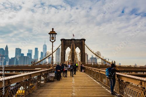 Canvas Prints Bridge Brooklyn Bridge - New York City