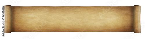 Obraz Aged paper scroll - long - fototapety do salonu