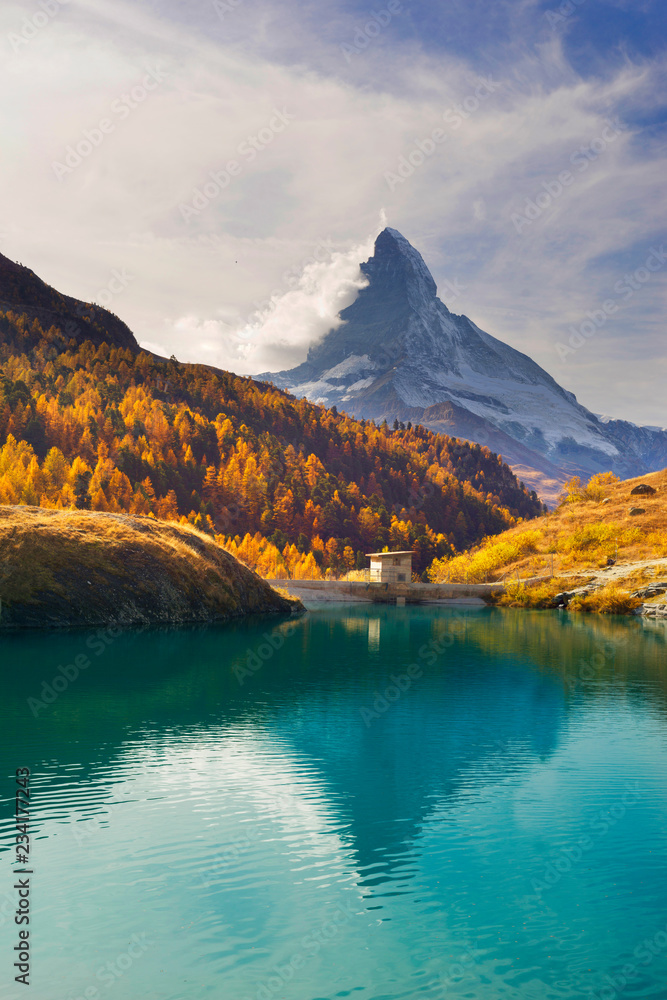 mountain lake Stellisee