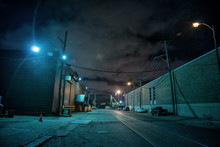 Industrial Urban Street City N...