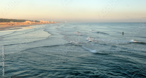 playa miramar Ciudad Madero Tamaulipas Mèxico Canvas Print