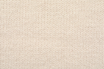 Texture of cozy warm sweater as background, closeup