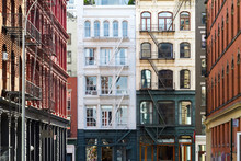 Old Buildings In Soho Manhattan, New York City