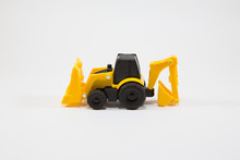 Yellow Construction Vehicle Toy